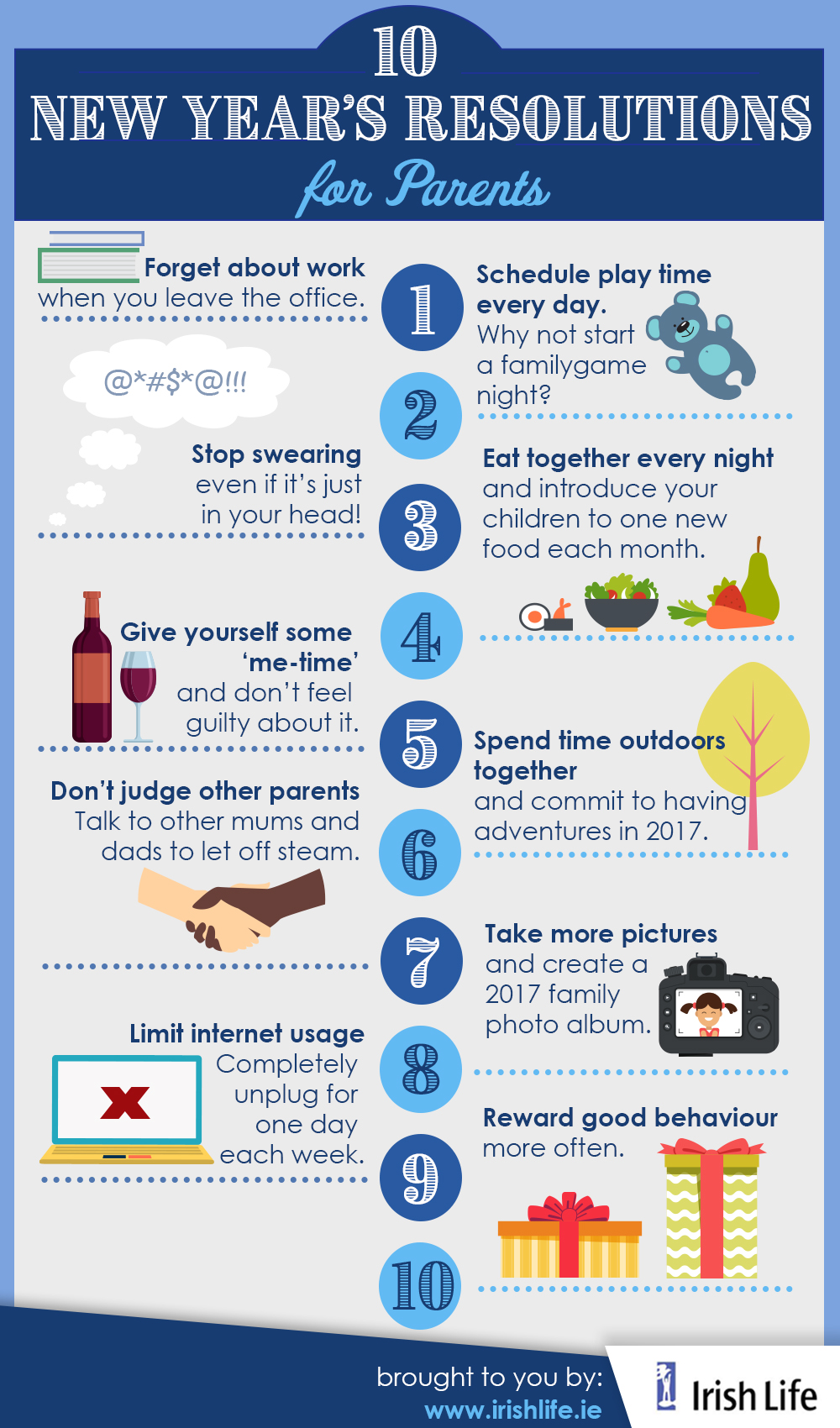 Irish Life New Years Infograohic Updated