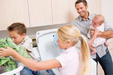 children-laundry