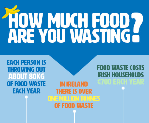Food waste in Ireland - stats