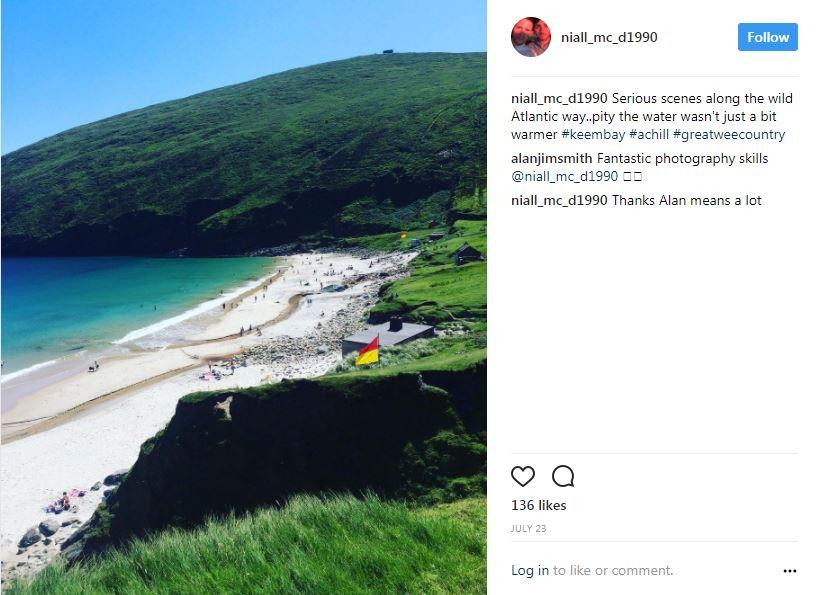 Best running locations in Ireland #3 - Achill Island