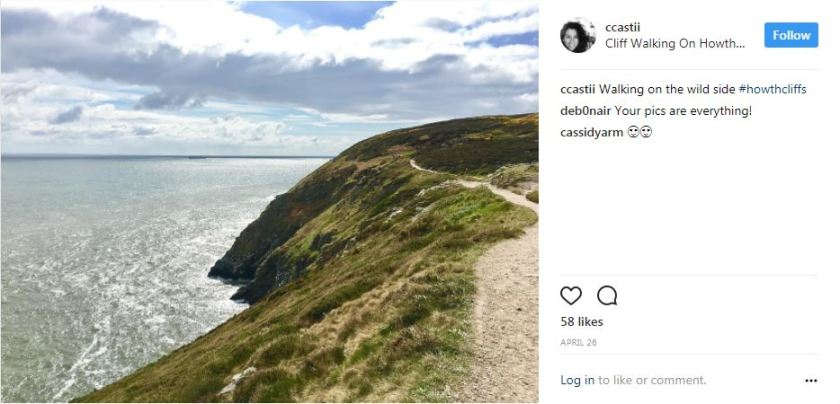 5 places to go for a run in Ireland: #1 Howth Cliff Path Loop