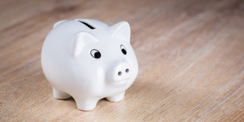 Save money - piggy bank