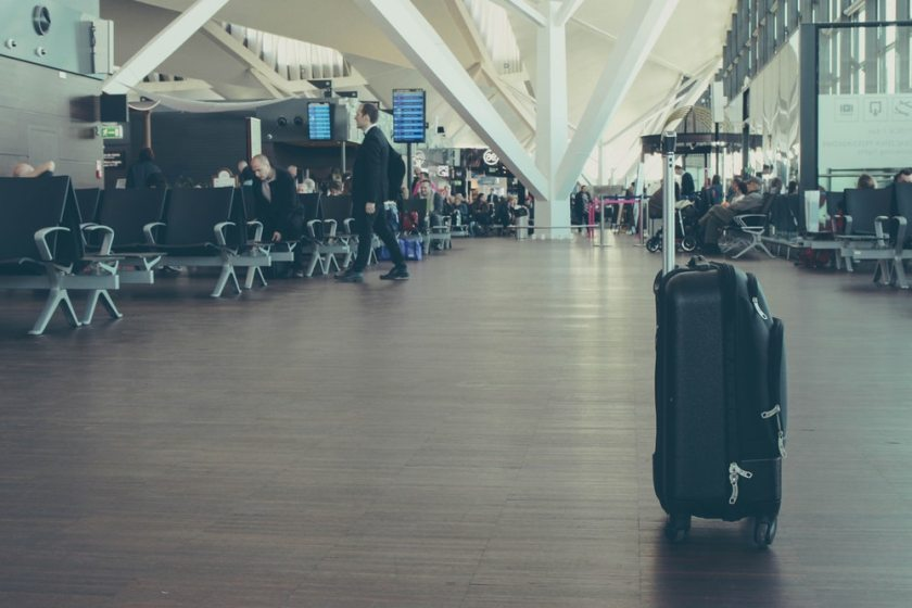 Tips to avoid January blues - plan a trip - airport